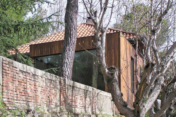 Reforma ampliación antigua Casa de guardia San Lorenzo del Escorial Henka Arquitectos