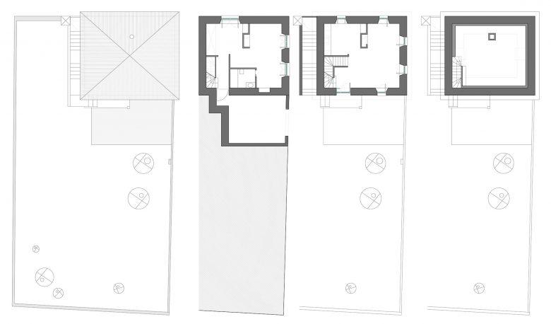 Estado inicial Casa guardia San Lorenzo del Escorial HenkaArquitectos