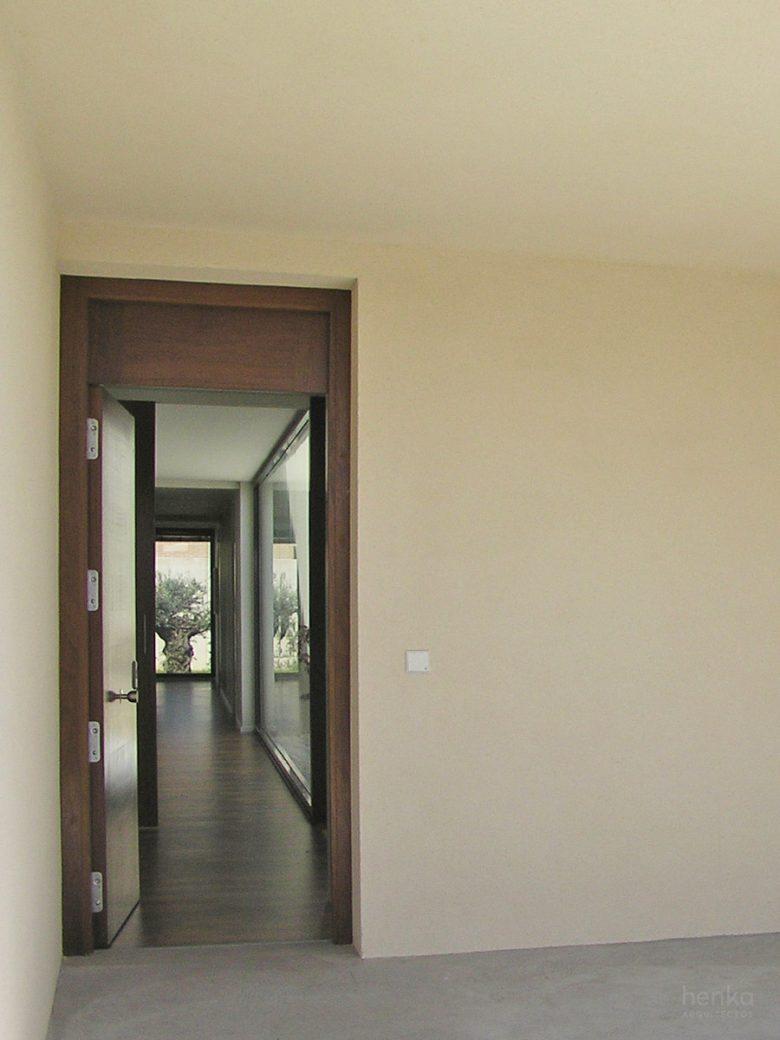 entrada Casa Morales del Vino Zamora Henka Arquitectos