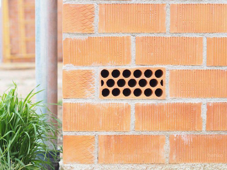 casa Pinar Antequera Valladolid ventilación fachada ladrillo Henka Arquitectos
