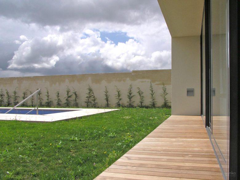 Continuidad jardin Casa Tierra Vino Morales Zamora Henka Arquitectos