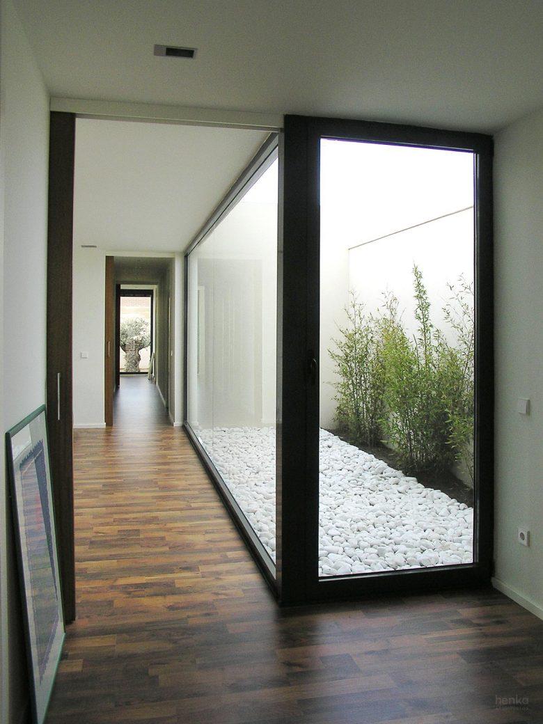 patio bambúes, Casa Morales del Vino Zamora Henka Arquitectos