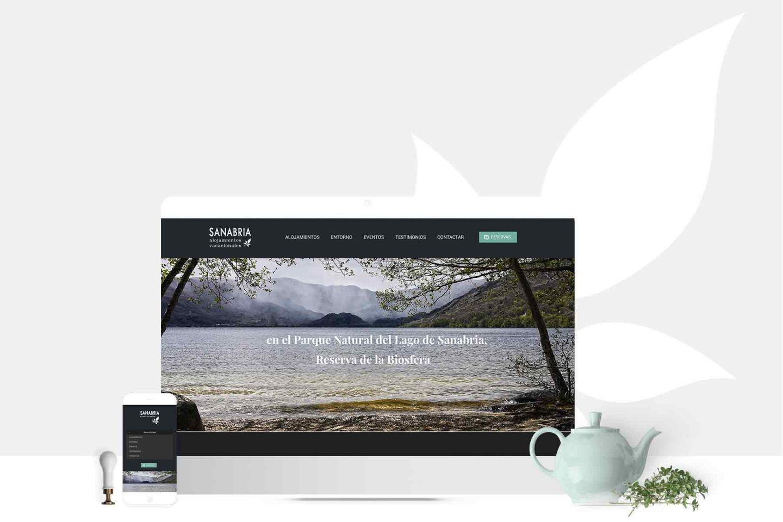 Casas Rurales Sanabria sitio web identidad visual branding HenkaWebs HenkaArquitectos