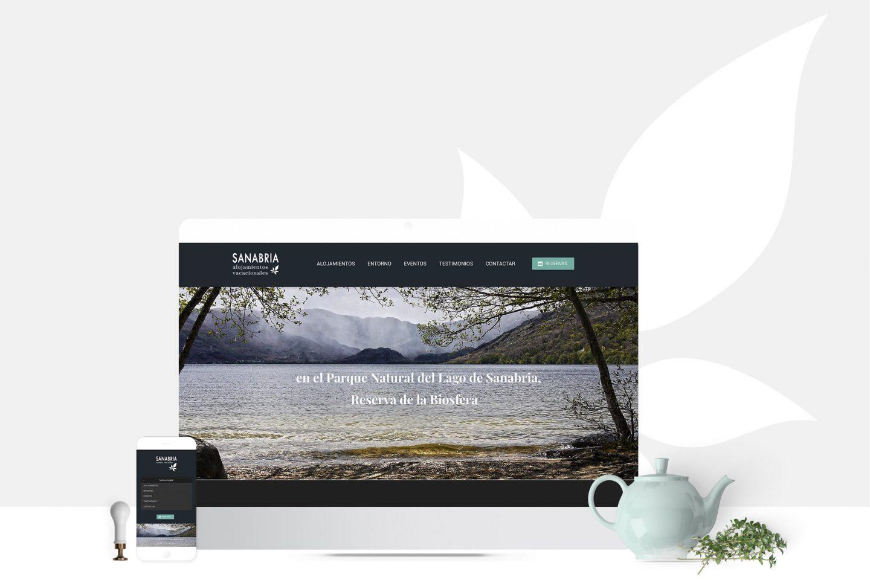 Casas Rurales Lago Sanabria sitio web identidad visual branding HenkaWebs HenkaArquitectos