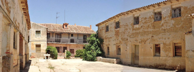Estado inicial Caserio castellano Mucientes Valladolid