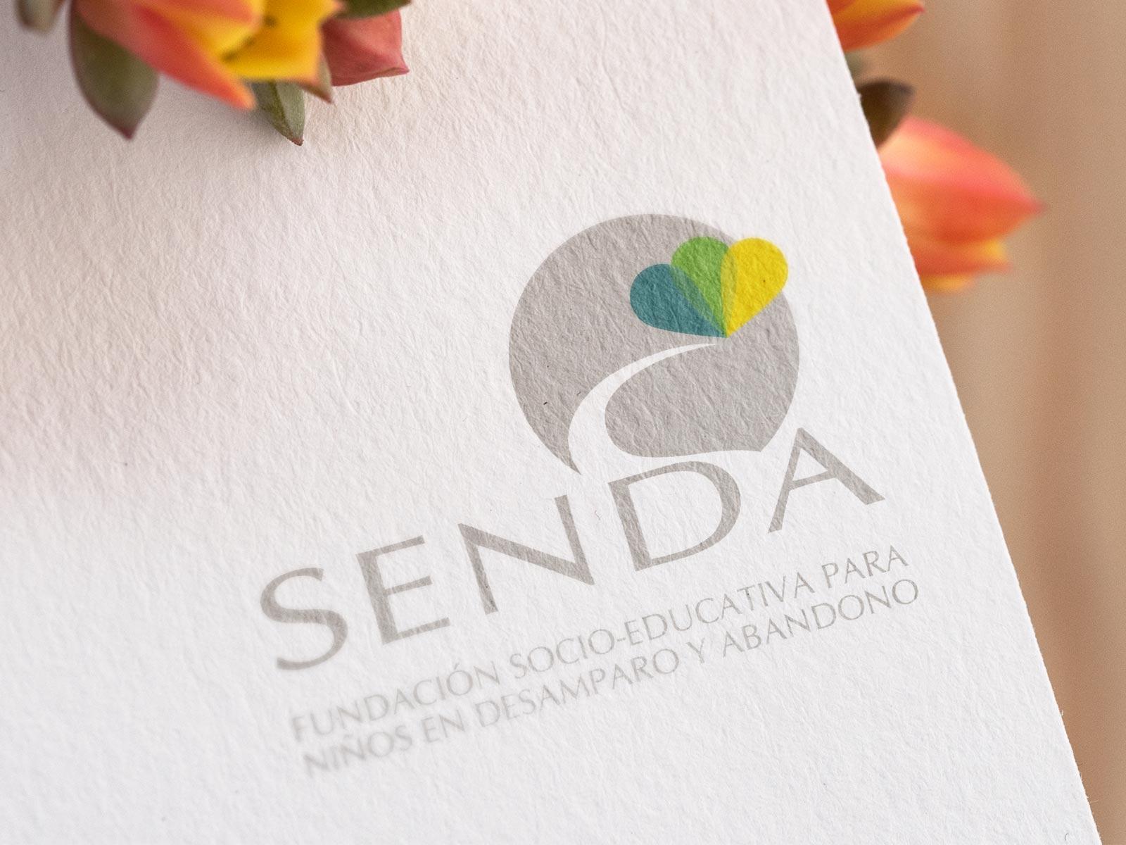diseño logotipo Fundación Senda Andalucia Córdoba Montoro HenkaWebs HenkaArquitectos