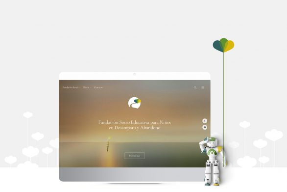 Fundación Senda Andalucia Identidad visual Sitio web HenkaWebs HenkaArquitectos