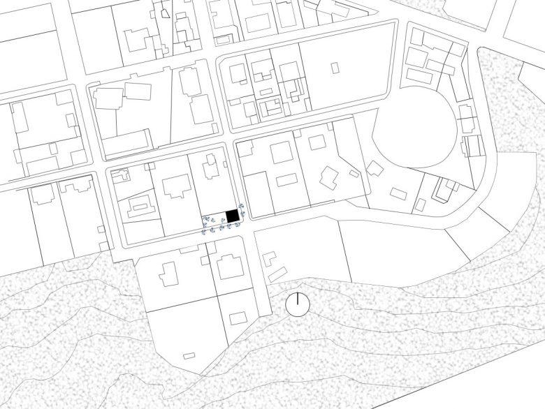 Situación reforma ampliación Casa guardia San Lorenzo del Escorial HenkaArquitectos