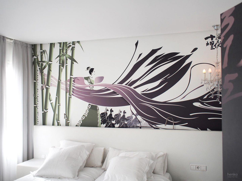 diseño House of Flying Daggers Hotel Dormirdcine Henka Arquitectos
