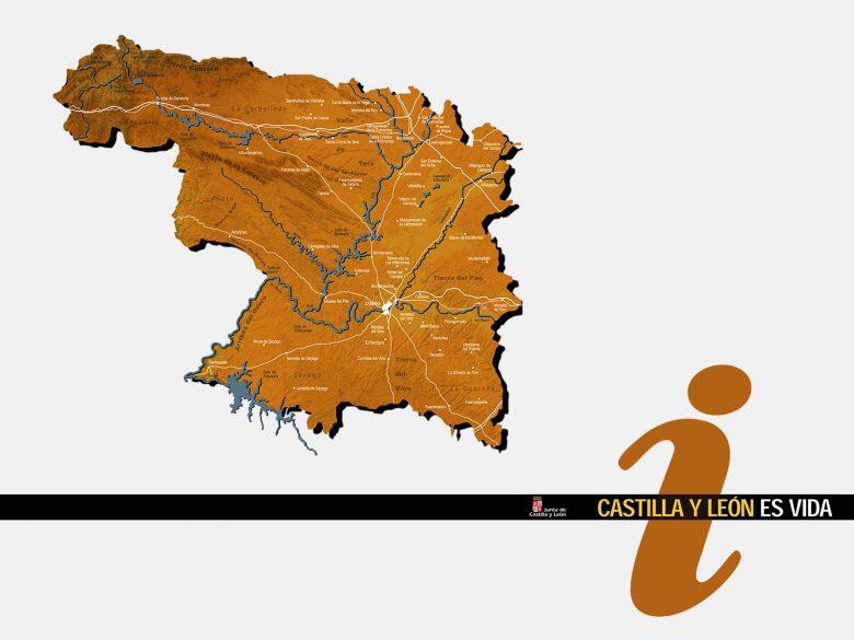 diseño identidad visual mapa oficina turismo Principe Asturias Zamora CYL HenkaWebs Henka Arquitectos