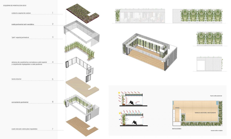 Propuesta 2005 Pabellón Ecoterrazas Valladolid HenkaArquitectos