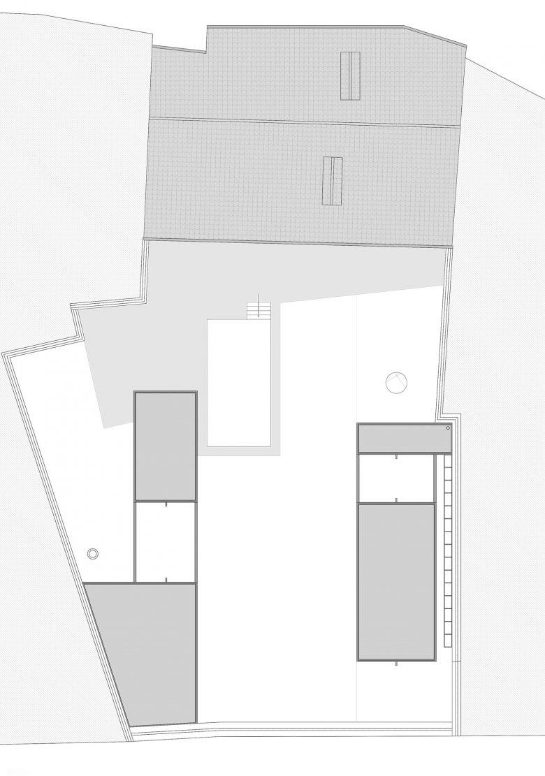 Plano de situación Caserio castellano Mucientes Valladolid Henka Arquitectos
