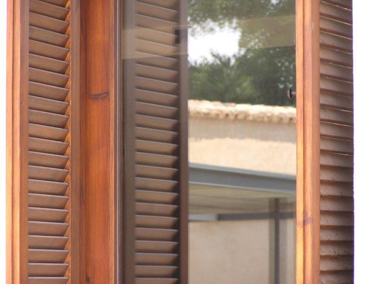 Detalle carpinterías Reforma Ampliación caserio castellano Mucientes Valladolid Henka Arquitectos