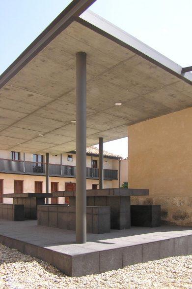 Cubiertas losas hormigon Reforma Ampliación caserio castellano Mucientes Henka Arquitectos