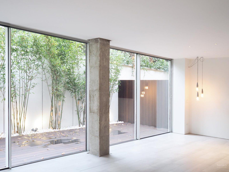 Espacio de día salón comedor Reforma integral Cabildo Valladolid Henka Arquitectos
