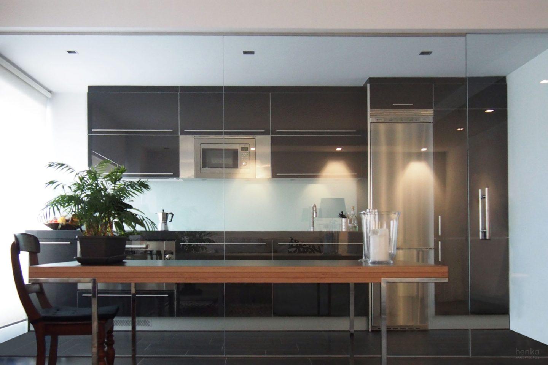 Cocina-comedor acristalada Reforma duplex Villate Burgos Henka Arquitectos