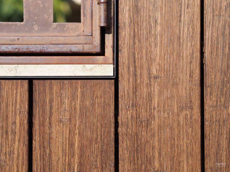 remates madera exterior bambu Bamboo X-treme Ampliación Trascastillo Zamora Henka Arquitectos