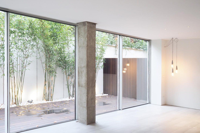 Reforma integral salón terraza bambú Cabildo Valladolid Henka Arquitectos