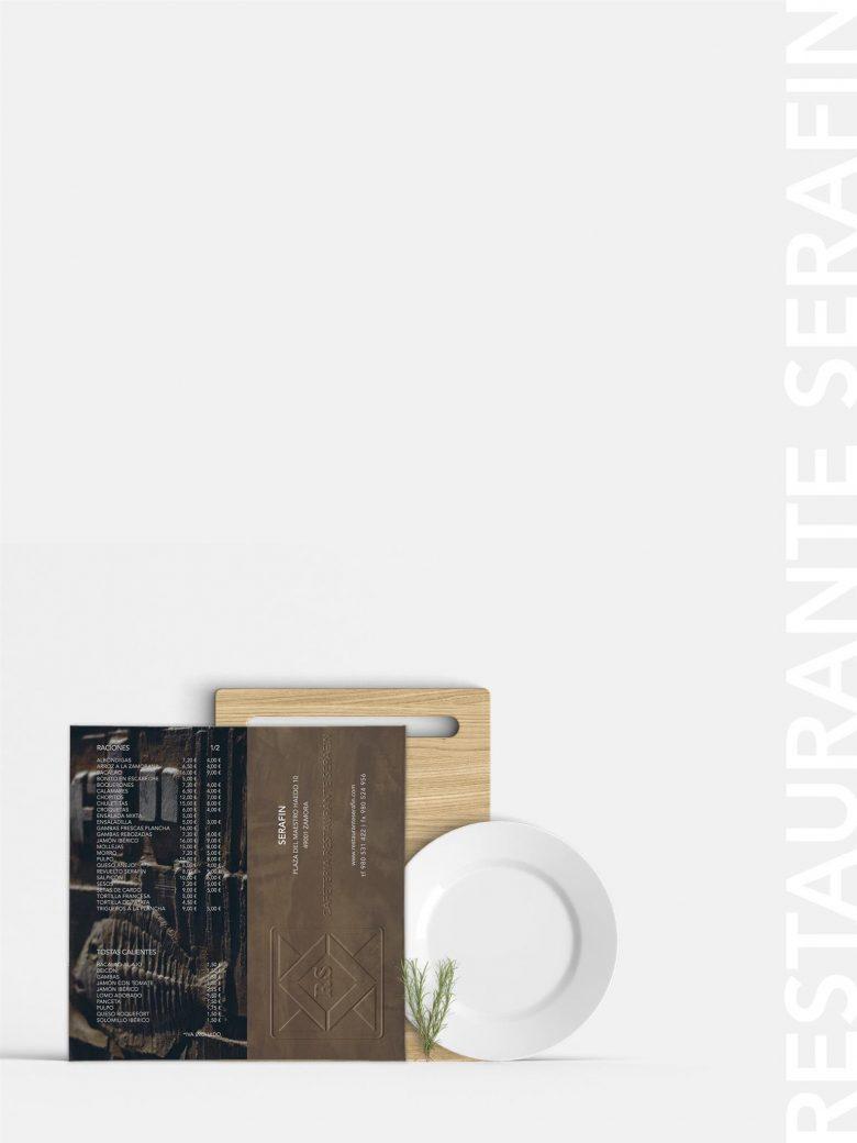 imagen corporativa branding Restaurante Serafin Zamora HenkaWebs HenkaArquitectos