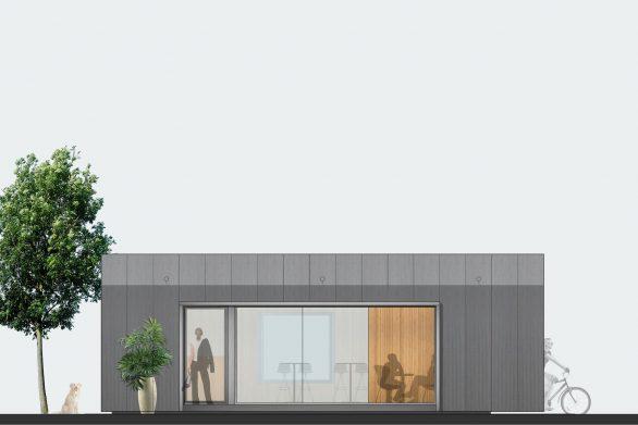 sistema prefabricado Ecopabellón transportable uso urbano domestico Henka Arquitectos