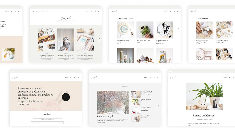 diseño sitio web ecommerce crafts diy artesanía mignonneries artisanales laboutiquedemelimelo HenkaWebs HenkaArquitectos