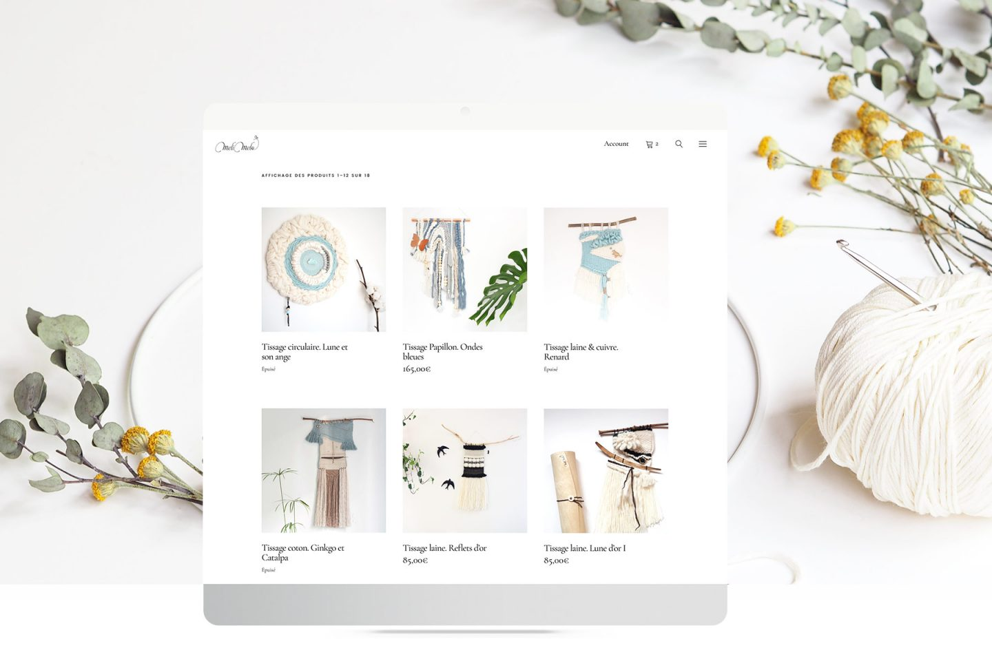Sitio web Ecommerce Blog crafts DIY laboutiquedemelimelo MeliMelo HenkaWebs HenkaArquitectos