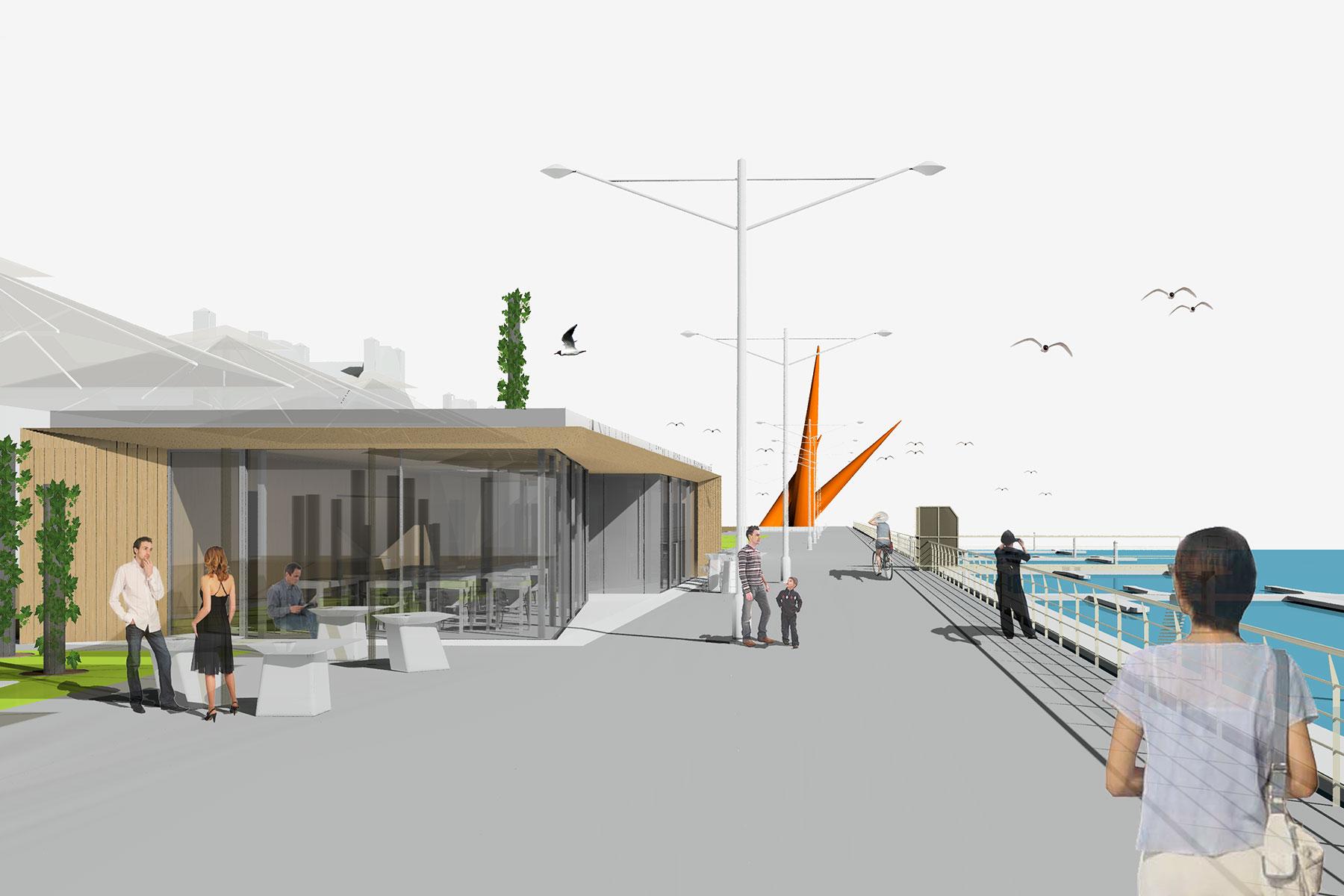 Terrazas puerto de avil s henka arquitectos - Arquitectos aviles ...