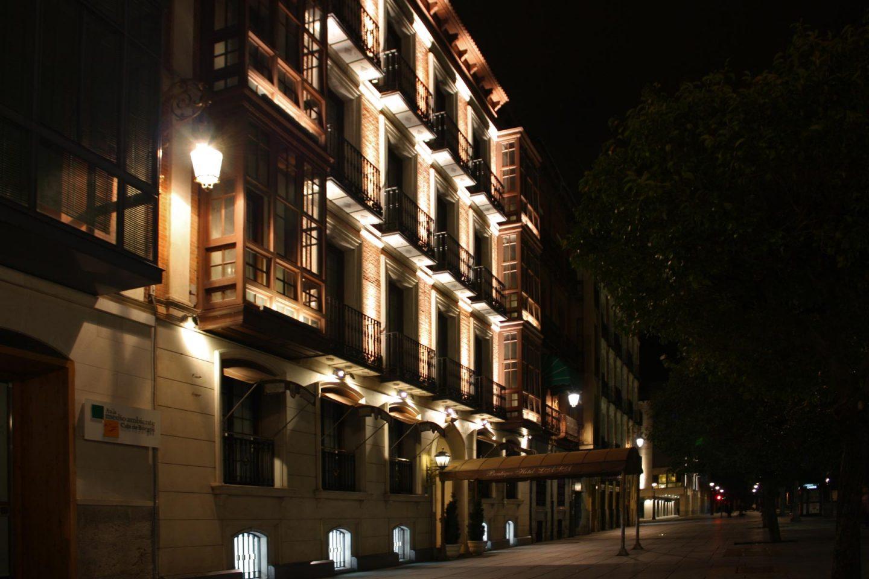 trabajos iluminación Hotel Lasa Valladolid Henka Arquitectos